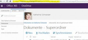 O365 ODB: Sync someone else's docs